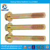 High Strength 8.8 Grade Flange Bolts with Color Zinc Plated