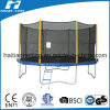 10 ft Round Premium Trampoline with Enclosure (HTTP10)