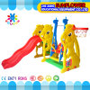 Indoor Playground Rabbit Shape Children Toys Kindergarten Soft Plastic Slide Playground (XYH12065-6)
