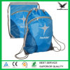 Blue Monogrammed Drawstring Backpack Wholesale