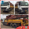 2005~2010 45m Used 8*4-LHD-Drive Isuzu Chassis Sany Concrete Pump Truck