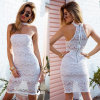 Slip Lace Ladies Bandage Halter Tube Dress