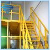 Industrial FRP Fiberglass Stair Balcony Handrail