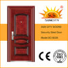 Heat Transfer Steel Security Door, High Quality Steel Door (SC-S029)