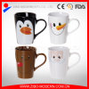 Color Glazed Ceramic Mug Cup with Lovely Designs