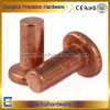 Copper Flat Head Solid Rivets Fasteners Supplier