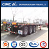 40FT 3axle Flatbed Trailer with 8/12 Twist Locks