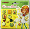 High Quality Epoxy Brads & Embellishments for Scrapbooking
