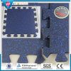 Rubber Gym Flooring, Outdoor Playground Interlocking Rubber Floor Tiles