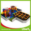 Liben Open Indoor Trampoline Site with Indoor Playground