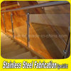 Interior Modern Stainless Steel Stair Railing with Glass