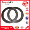 88mm Road Bicycle Tubeless Clincher Wheels Powerway Carbon Body Hub Tabular Rim