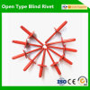 Aluminum Material Red Color Rivets (AS4815R)