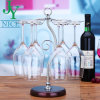 High-End Iron Creative Six-Holder Wine Cup Rack of Art Design Product