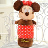 Mickey Mouse Toy Shaped Plush Round Pillow for Wholesale