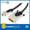 Metal Assembly HDMI 19pin Plug-DVI Plug Digital Cable
