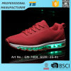 2017 Air Cushion Sneaker LED Luminous Running Shoe Mens USB Rechargeable