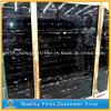 China Building Material Silver Dragon Black Marble Stone for Tiles