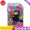 Fingerlings Interactive Baby Monkey Toy Finn (Black with Blue Hair)