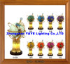 Yaye 18 Best Sell 220mm/330mm Lighting Gemstone Globe /World Globe/Gemstone Globe/ Gifts/Crafts