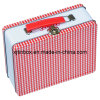 Tin Lunch Box with Lock and Hinge, Handle Box, Lunch Gift Box, Tin Handle Box, Gift Handle Case (XJ-022F)