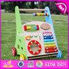 Wholesale Best Design Multi Push Along Wooden Baby Walking Toys W08j001