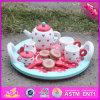 2016 Wholesale Baby Wooden Toy Tea Set, Kids Kitchen Wooden Toy Tea Set, Funny Children Wooden Toy Tea Set W10d120