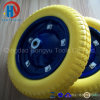Painted Metal Rim Colorful PU Foam Wheels