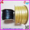 Polyester Golden Edge Single Ribbon