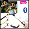 Extendable Foldable Wireless Remote Pocket Bluetooth Selfie Stick Monopod with Shutter