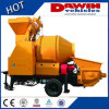 Electrical Diesel Truck Mounted 30m3/H Small Portable Concrete Mixer Pump Small Mixer and Pumping Product