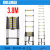 Hot Sell 3.8m Telescopic Ladder with En131-6