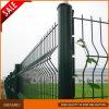 Dark Green 3 Folds Welded Wire Mesh Fence
