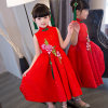 [Flower Girl Dress] Design 3D Embroidery Chinese Dress Lace Dress