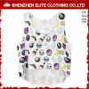Custom Made Fashionable Sublimation Gym Singlets Women (ELTVI-39)