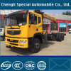 6X4 Truck LHD Steering Type Cargo Truck with Crane