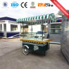 China Good Quality Mobile Food Cart with Wheels for Sale