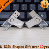 Rotating Crystal USB Pen Drive as Promotional Gifts (YT-3270-06)