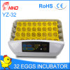 New Design Hhd Automatic Chicken Egg Incubator for Sale Yz-32