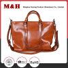 Dual-Use Large Capacity PU Genuine Leather Handbag