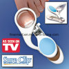 LED Nail Clipper with Magnifier Light