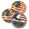 Promotion Gift Custom USA Military Metal 3D Soft Enamel Gold Souvenir Challenge Commemorative Coin for Sale