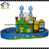 2 Players Green Castle Train for Little Kids