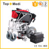 Topmedi Handicapped Light Weight Aluminum Foldable Power Electric Wheelchair Prices