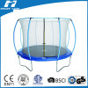 14FT Elegant Lantern Trampoline with Safety Net