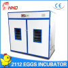 Hhd Fully Automatic Quail Egg Incubator Hatching Machine (YZITE-15)