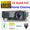 Ce Certificate Mini Home 1500 Lumens LCD LED Projector