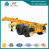 40FT Two-Axle Container Skeleton Semi Trailer