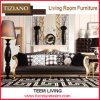 2s007 Tiziano Livingroom Furniture 3-Seater Classical Leather Sofa