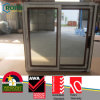 Top Quality Materials PVC Sliding Window with Grey Tinted Glass